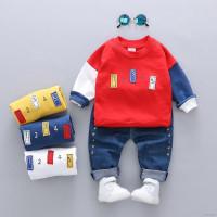 (PROMO) ♕ babyme ღ Baby Boys Casual Long Sleeve Sweatshirt