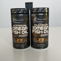 Muscletech Platinum Omega-3 Fish Oil Fishoil 100 soft g SVXX