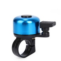 Bell Sepeda Stainless Steel Safety Cycling Horn - CQC [Biru]