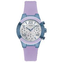 Jam Tangan Wanita Guess GW W0958L2 Purple Biru Original