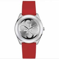 Jam Tangan Wanita Guess GW W0911L9 Silver Merah Original