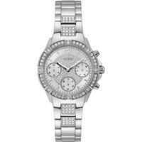 Jam Tangan Wanita Guess GW W1071L1 Silver Putih Original