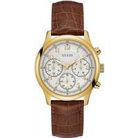 Jam Tangan Wanita Guess GW W1017L2 Gold Putih Original