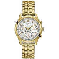 Jam Tangan Wanita Guess GW W1018L2 Gold Putih Original