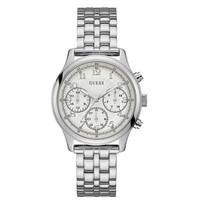 Jam Tangan Wanita Guess GW W1018L1 Silver Putih Original