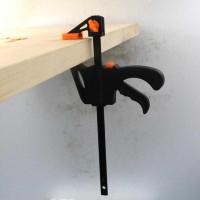 F Clamp 4 inch Klem Kayu DIY WoodWorking Alat Jepit Penjepit Perkayuan
