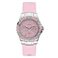 Jam Tangan Wanita Guess GW W0775L15 Silver Pink Original