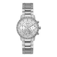Jam Tangan Wanita Guess GW W1022L1 Silver Putih Original