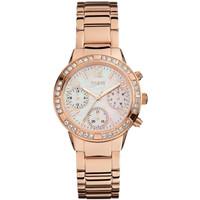 Jam Tangan Wanita Guess GW W0546L3 Rosegold Putih Original