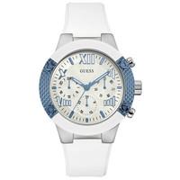 Jam Tangan Wanita Guess GW W0772L3 Silver Putih Original