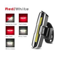 Lampu Belakang Sepeda USB Recharge Lamp 120 Lumens - FH2881
