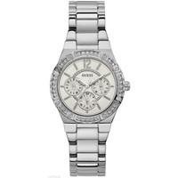 Jam Tangan Wanita Guess GW W0845L1 Silver Putih Original