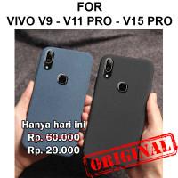 Sand scrub soft case Vivo V9 - V11 Pro - V15 Pro casing cover silikon