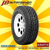 285/60 R18 Toyo Tires Open Country AT2 ban mobil Fortuner Upsize
