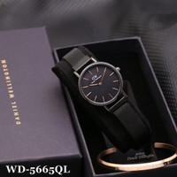 jam tangan wanita WD-5665QL FREE GELANG