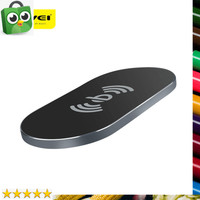 BEST Awei Ultra Thin Qi Wireless Charger - W2 - Black