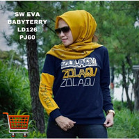Kaos Eva Big Size Tshirt Lengan Panjang Jumbo