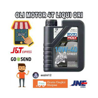 BISA P New JT SPARE PART MOTOR OLI MOTOR 4T LIQUI MOLY STREET 10W-40 a