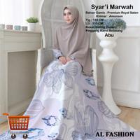 Dress Marwah Big Size Busui Gamis Maxi Dress Muslim Jumbo
