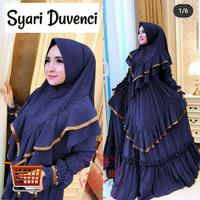 Dress Duvenci Big Size Busui Gamis Maxi Dress Muslim Jumbo