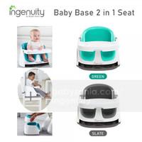 Ingenuity Baby Base 2 in 1 Kursi Makan Bayi - Green / Slate