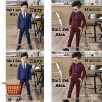Setelan Alex 3in1 Setelan Anak Laki-Laki