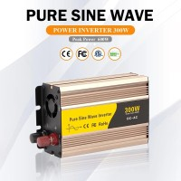 HE-DC12V To AC 220V 300W Solar Power Inverter Converter Pure Sine