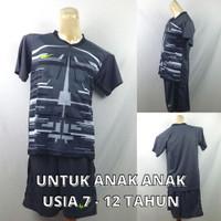 Setelan Baju/Kaos Sepak Bola/Futsal Dri-Fit Print Kids/Anak Nike 7