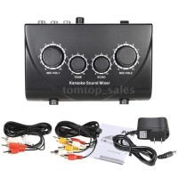Sale Audio Mixer Sound System Echo Karaoke Dual Mic NKR parts