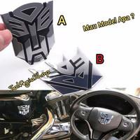 Emblem transformers autobots silver tinggal pilih perkakas