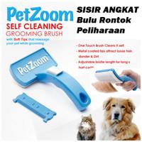 Sisir Perawatan Bulu Anjing Pet Zoom Grooming Hewan