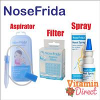 Nosefrida penyedot ingus bayi (Hard Case Plastik) / Nosefrida Filter