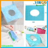 Toilet Seat Cover Alas Duduk Closet Tissue Portable Tisu Tatak Wc