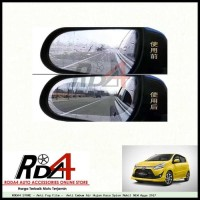Anti Fog Film - Anti Embum Air Hujan Kaca Spion Mobil NEW Agya 2017