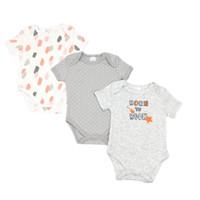 Baby Jumper Bodysuit Motif Born To Rock 3in1 - 3-6 Bulan
