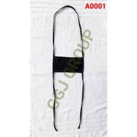 A ( A0001 ) MASKER HIJAB KAIN/ TALI SAMBUNG - PUTUS / FREE PLASTIK