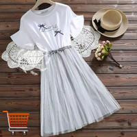 Dress Alone Big Size Mini Dress Midi Dress