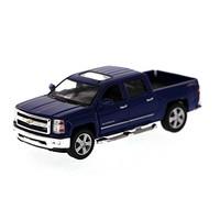 KiNSMART 2014 Chevy Silverado Pick-up Truck, Blue 5381D - 1/46 Scale D