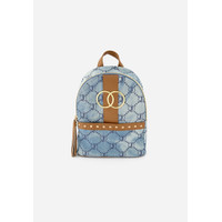Justice Girls Tas Ransel Mini Denim Medium Wash-1248 - One Size
