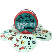 spot it and dobble card game table Board Game For Dobbles Kids Spot