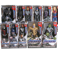 Action Figure Avengers With Box Large Size