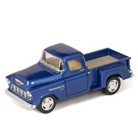 Kinsmart 1955 Chevy Step Side Pick-Up Die Cast Collectible Toy Truck,