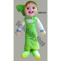 boneka masha and the bear Marsha Jumbo - MEDIUM POLKADOT SBS FC01