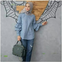 TRENDY mikayla pearl blouse 04 NEW