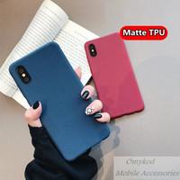 LG G8 V30 V40 ThinQ G6 Case Anti Fingerprint Soft Silicone TPU Matte