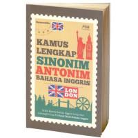 Pusa Kamus Lengkap Sinonim Antonim Bahasa Inggris Buku Kamus Umum Syam