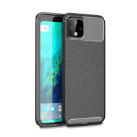 Shockproof Casing Google Pixel 3A XL 4A 4XL 4 XL Soft Phone Case Carb