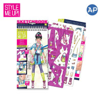 Style Me Up! Denim Collection Sketchbook (Small)