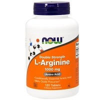 Now Foods L-Arginine Double Strength 1.000 mg - 120Tablets - Now Foods