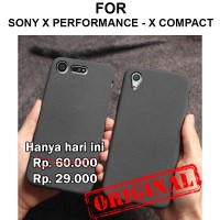 Soft case Sony Xperia X Performance - Compact casing cover SAND SCRUB